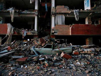 ईरान में आए भूकंप ने ली थी सैकड़ों की जान।
