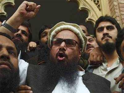 आधी रात के बाद रिहा हुआ हाफिज सईद, बोला- कश्मीर की आजादी के लिए लड़ता रहूंगा