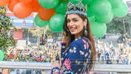 Miss World 2017 Manushi Chhillar's homecoming parade in Mumbai