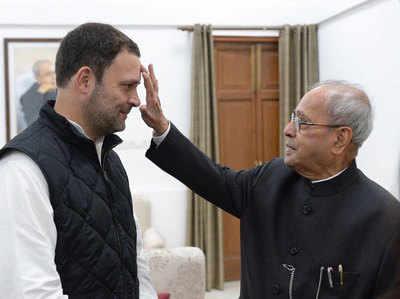 पूर्व प्रेजिडेंट ने लुटाया राहुल पर प्यार