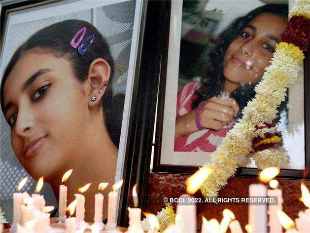 Fourteen-year-old Aarushi was found dead inside her room in the Talwars' Noida residence with her throat slit in May 2008.
