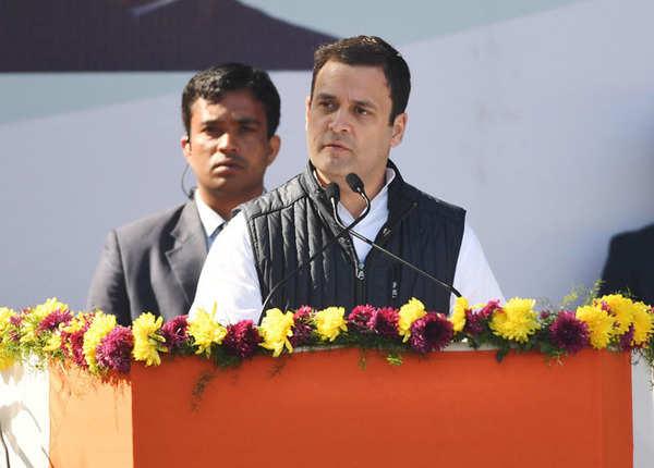 राहुल गांंधी ने संभाली कांग्रेस की कमान, कार्यकर्ताओं ने मनाया जश्न