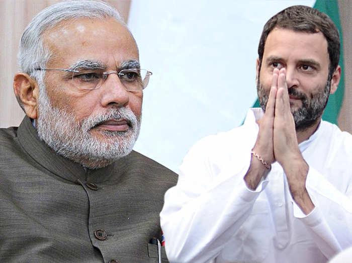 नरेंद्र मोदी बनाम राहुल गांधी (फाइल फोटो)