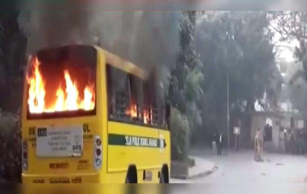 छात्र नेता की गिरफ़्तारी पर बीएचयू में फिर बवाल