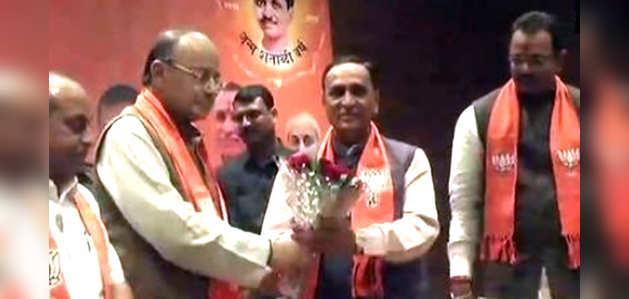 एक बार फिर गुजरात के सीएम बनेंगे विजय रुपाणी, नितिन पटेल होंगे उपमुख्यमंत्री