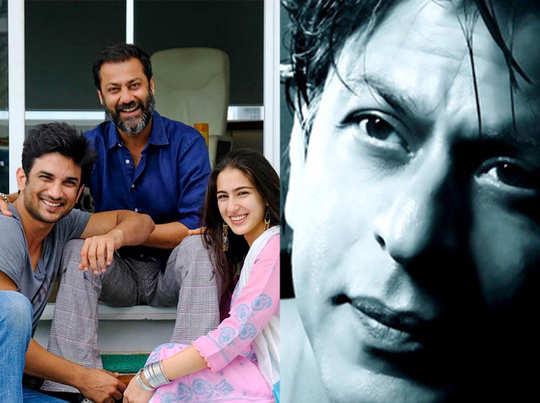 फिल्म केदारनाथ की टीम और शाहरुख खान