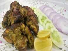 green chicken fry recipe