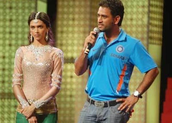 दीपिका और महेंद्र सिंह धोनी