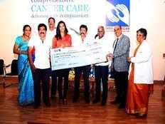 PV Sindhu donated 25 lakhs to basavatarakam cancer hospital