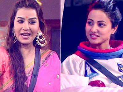शिल्पा शिंदे और हिला खान