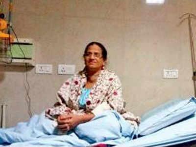 पीजीआई में भर्ती मरीज लुतफुन्निशा