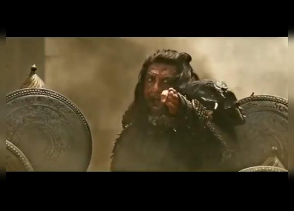 अपने किरदार के लिए  रणवीर ने जान लड़ा दी है