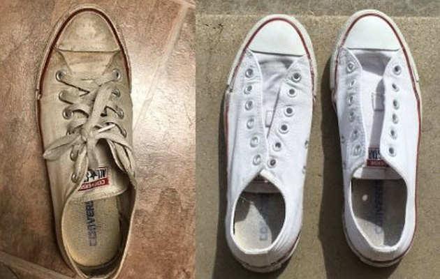 टिप्स: यूं वापस पाएं सफेद जूतों की चमक