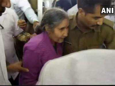 दुर्घटना के बाद पीएम मोदी की पत्नी जसोदाबेन