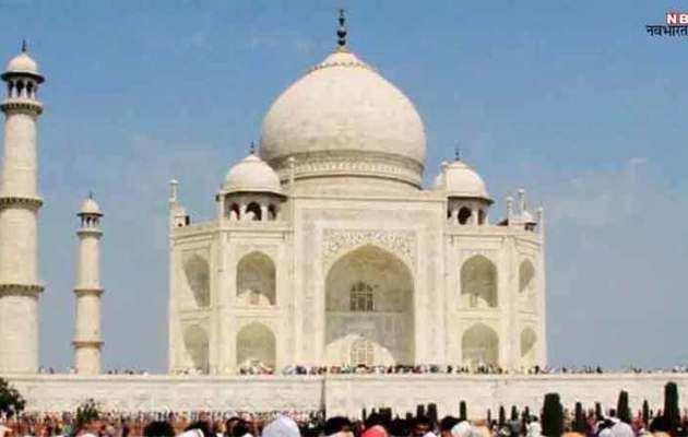 ताज महल की अंदरूनी दीवारों पर बेअसर हो रहा मड पैक
