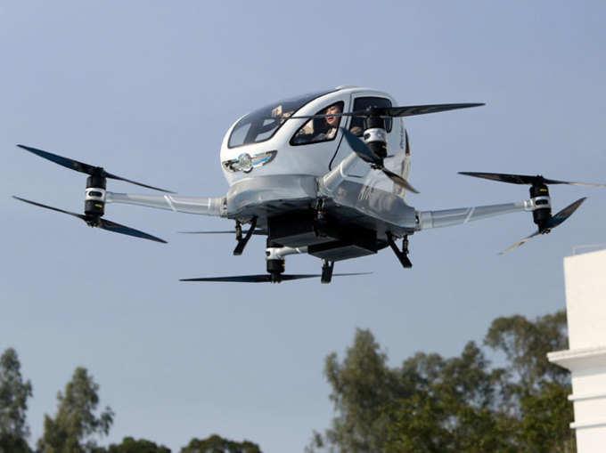 Ehang 184: यह है बिना ड्राइवर उड़ने वाली दुनिया की पहली पैसेंजर टैक्सी, हुई पब्लिक टेस्टिंग