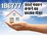 PMAY: शहरी गरीबों के लिए 1.86 लाख घर