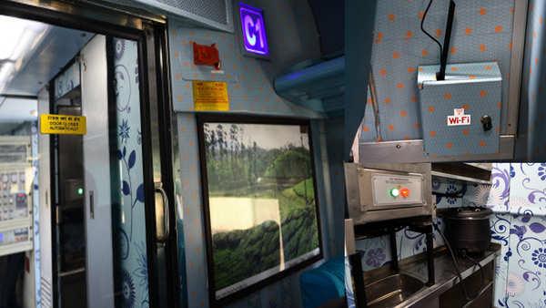 now you can watch over 100 movies aboard chennai bengaluru mysuru shatabdi express