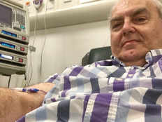 cancer patient buys his own chemotherapy machine in peterborough