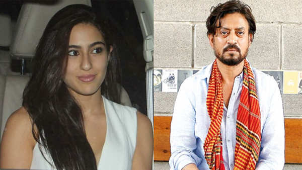 sara ali khan to play irrfan khans daughter in hindi medium 2
