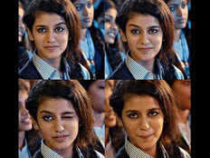 hyderabad youth files fir against priya prakash varrier and producer for viral video song