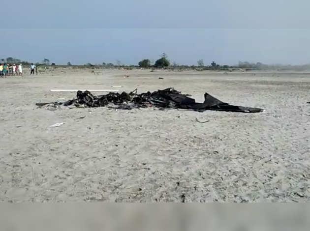 IAF chopper crashes in Assam, 2 dead