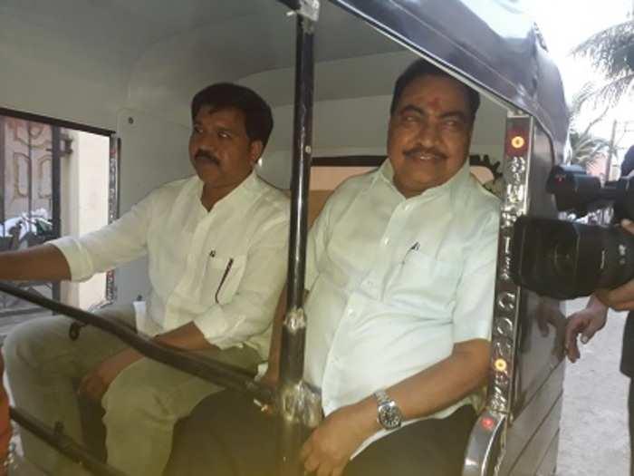 khadse rickshaw photo pankaj patil