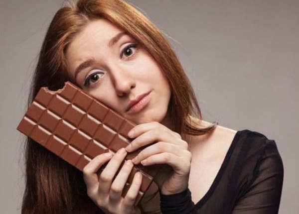 डार्क चॉकलेट में होती है कैफीन