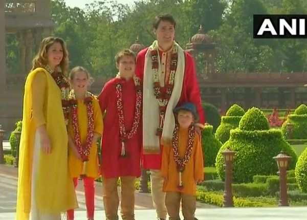 भारतीय रंग में रंगे कनाडा के पीएम जस्टिन ट्रूडो