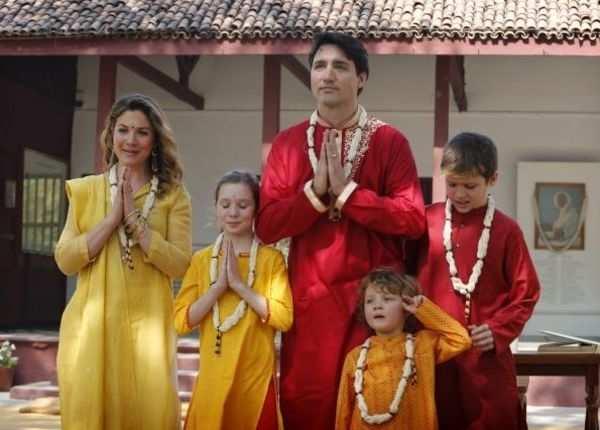 भारतीय रंग में रंगे कनाडा के पीएम