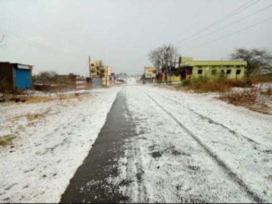 उत्तर-मध्य महाराष्ट्रात गारपिटीची शक्यता