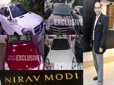PNB घोटाला: ED ने नीरव मोदी की लग्जरी कारें जब्त की