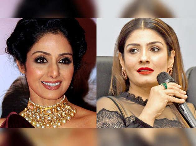 मशहूर अभिनेत्री श्रीदेवी के निधन पर रवीना टंडन ने जताया शोक