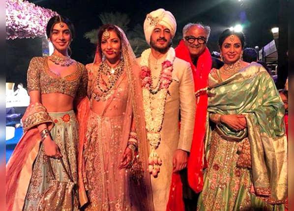 मोहित मारवाह की शादी अटेंड करने पहुंची थीं श्रीदेवी
