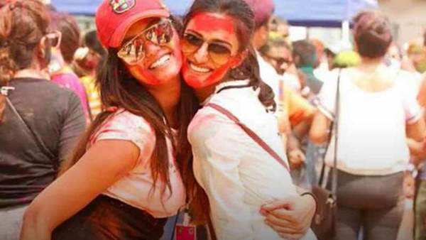 celebs at ekta kapoors holi party