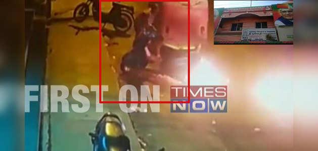 कोयंबटूर: बीजेपी कार्यालय पर फेंके गए पेट्रोल बम, कैमरे में क़ैद हमलावर