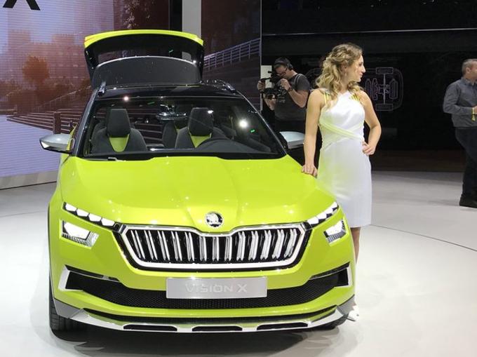 स्कोडा विज़न एक्स: जिनीवा मोटर शो में छाई नई कार, जानें बड़ी बातें