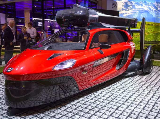 जिनीवा मोटर शो: उड़ने वाली कार हुई लॉन्च, जानें खूबियां