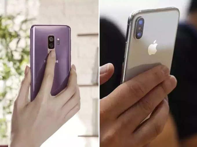 iPhone X की गॅलेक्सी एस९+; कोणाचा कॅमेरा चांगला