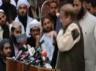 shoe hurled at former pakistan pm nawaz sharif