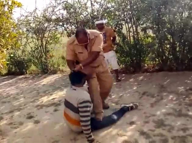 प्रतापगढ़ में युवक की पिटाई का मामला
