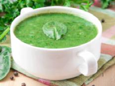 palk soup low calorie recipe