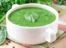 palk soup low calorie recipe