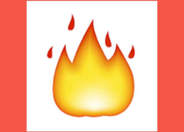 आग सिंबल माना है...