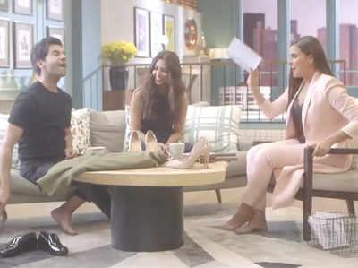 राजकुमार राव, राधिका आप्टे और नेहा धूपिया