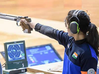 भारतीय महिला शूटर मनु भाकर (फाइल फोटो)