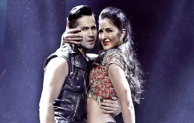 भारतकी सबसे बड़ी डांस फिल्म के लिए वरुण धवन और कटरीना कैफ आए साथ