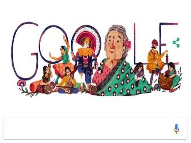 गूगल ने स्वतंत्रता सेनानी कमलादेवी चट्टोपाध्याय की याद में बनाया डूडल, आज है 115वीं सालगिरह