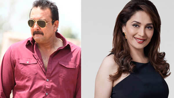 watch sanjay dutt gets angry when asked about madhuri dixit