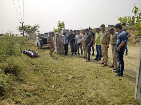 अलीगढ़ मुठभेढ़ में घायल हुए दो बदमाश